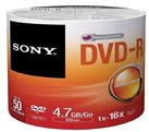 DVD-R Pack of 50